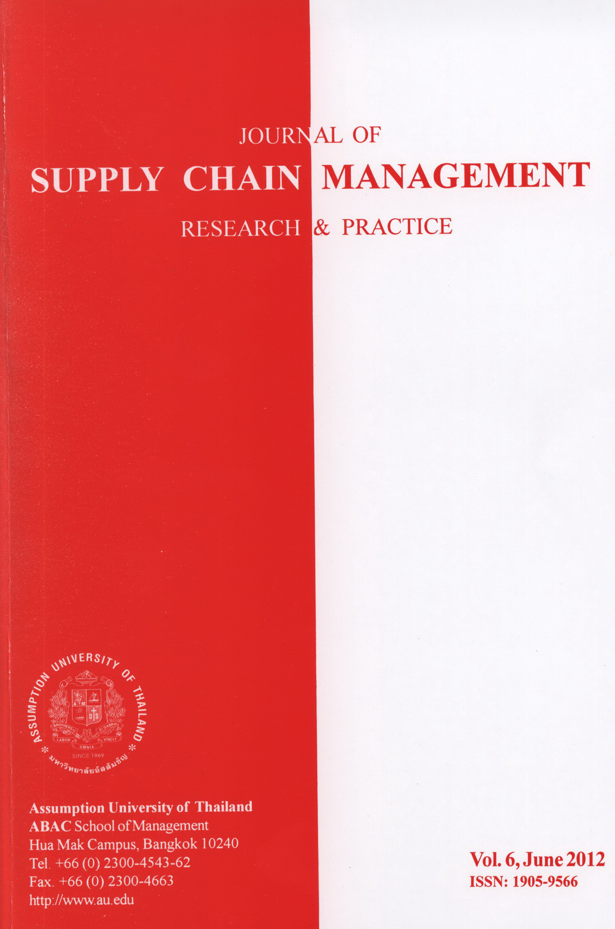 FORECASTING FOR INVENTORY CONTROL | Journal of Supply Chain